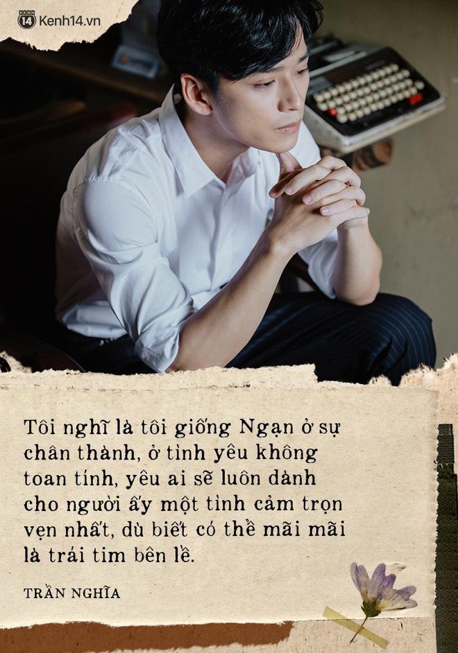 Trước khi bị bóc phốt lăng nhăng, Trần Nghĩa từng chia sẻ mình yêu chân thành không toan tính, trước giờ chỉ có một mối tình - Ảnh 2.
