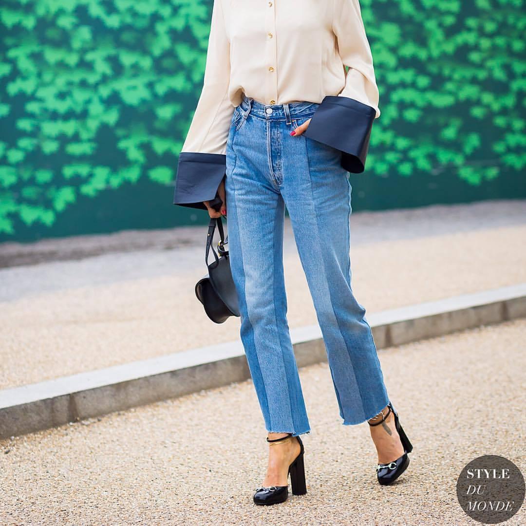 diện quần jeans mỗi ngày add 3