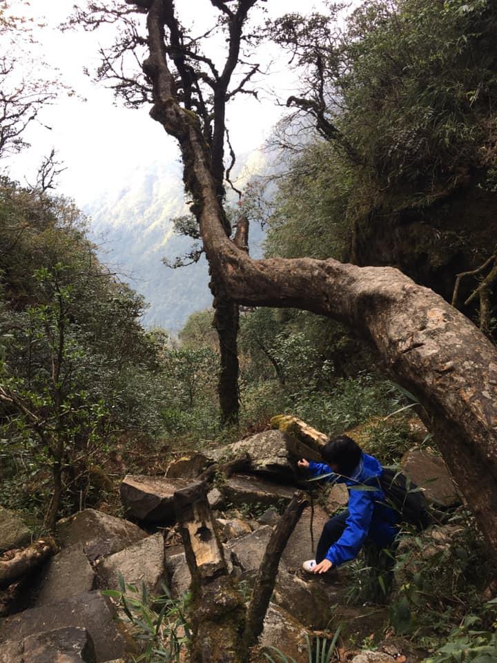 Cười xỉu với hành trình cô gái Sài Gòn mếu máo leo núi Fansipan vì bạn trai rủ: Tình yêu quả là có sức mạnh phi thường! - Ảnh 12.