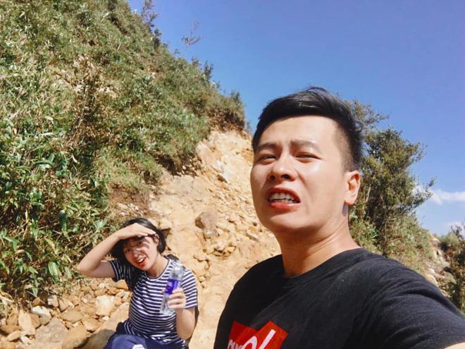 Cười xỉu với hành trình cô gái Sài Gòn mếu máo leo núi Fansipan vì bạn trai rủ: Tình yêu quả là có sức mạnh phi thường! - Ảnh 6.