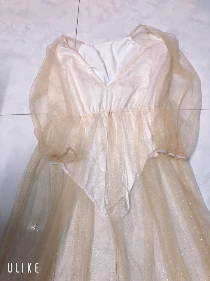 Order đầm sang chảnh ăn cưới, cô gái nhận về quả váy mỏng như giấy nhưng hành động của chủ shop mới sốc - Ảnh 3.