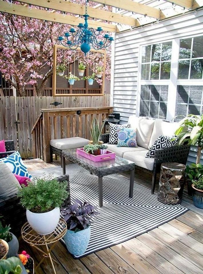 Những ý tưởng siêu đẹp mà bạn có thể dễ dàng áp dụng vào góc thư giãn của gia đình để chào đón mùa hè - Ảnh 5.