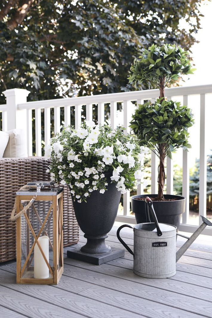 Những ý tưởng siêu đẹp mà bạn có thể dễ dàng áp dụng vào góc thư giãn của gia đình để chào đón mùa hè - Ảnh 17.