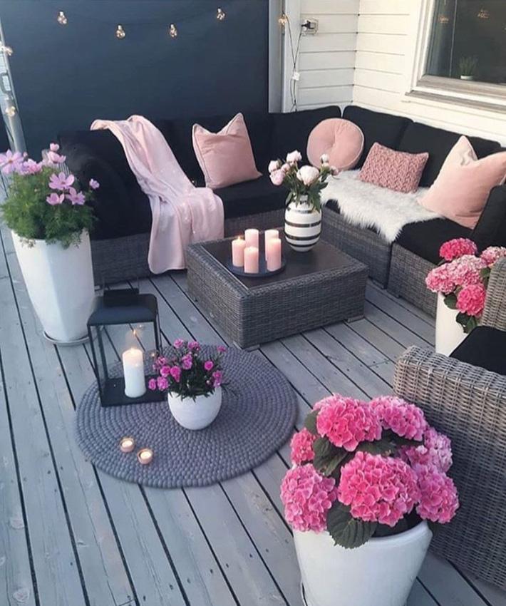 Những ý tưởng siêu đẹp mà bạn có thể dễ dàng áp dụng vào góc thư giãn của gia đình để chào đón mùa hè - Ảnh 8.