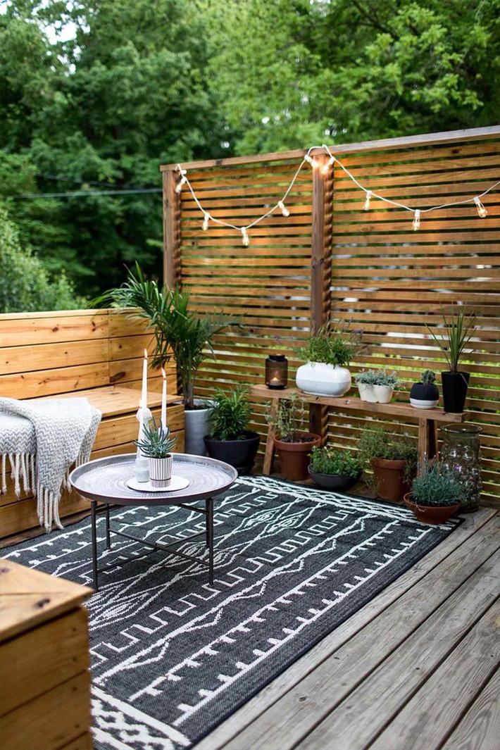 Những ý tưởng siêu đẹp mà bạn có thể dễ dàng áp dụng vào góc thư giãn của gia đình để chào đón mùa hè - Ảnh 15.