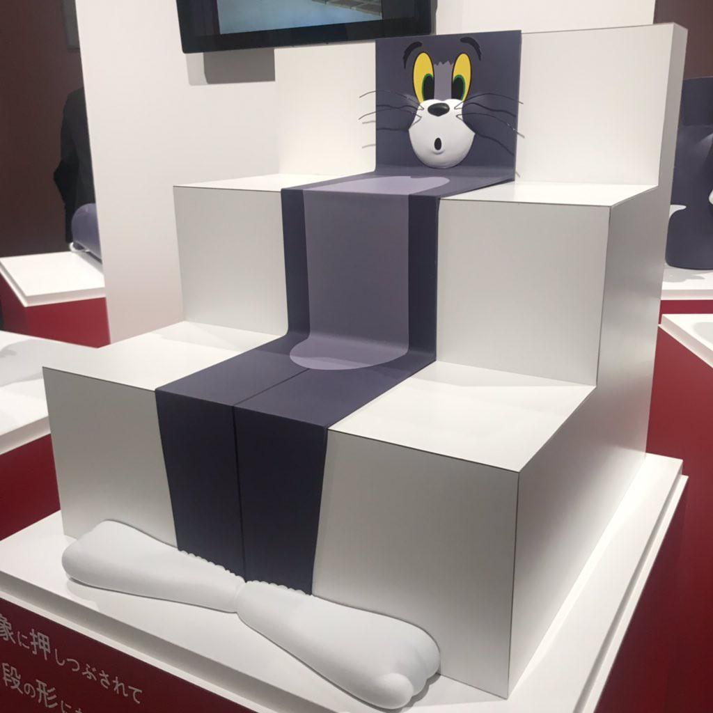 Cả một bầu trời tuổi thơ với triển lãm Tom&Jerry ở Nhật Bản: Hoá ra mèo Tom đã từng bị hành khổ sở thế này đây! - Ảnh 7.
