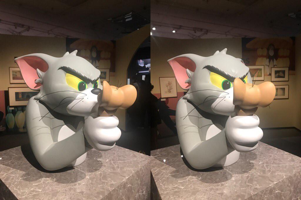 Cả một bầu trời tuổi thơ với triển lãm Tom&Jerry ở Nhật Bản: Hoá ra mèo Tom đã từng bị hành khổ sở thế này đây! - Ảnh 8.