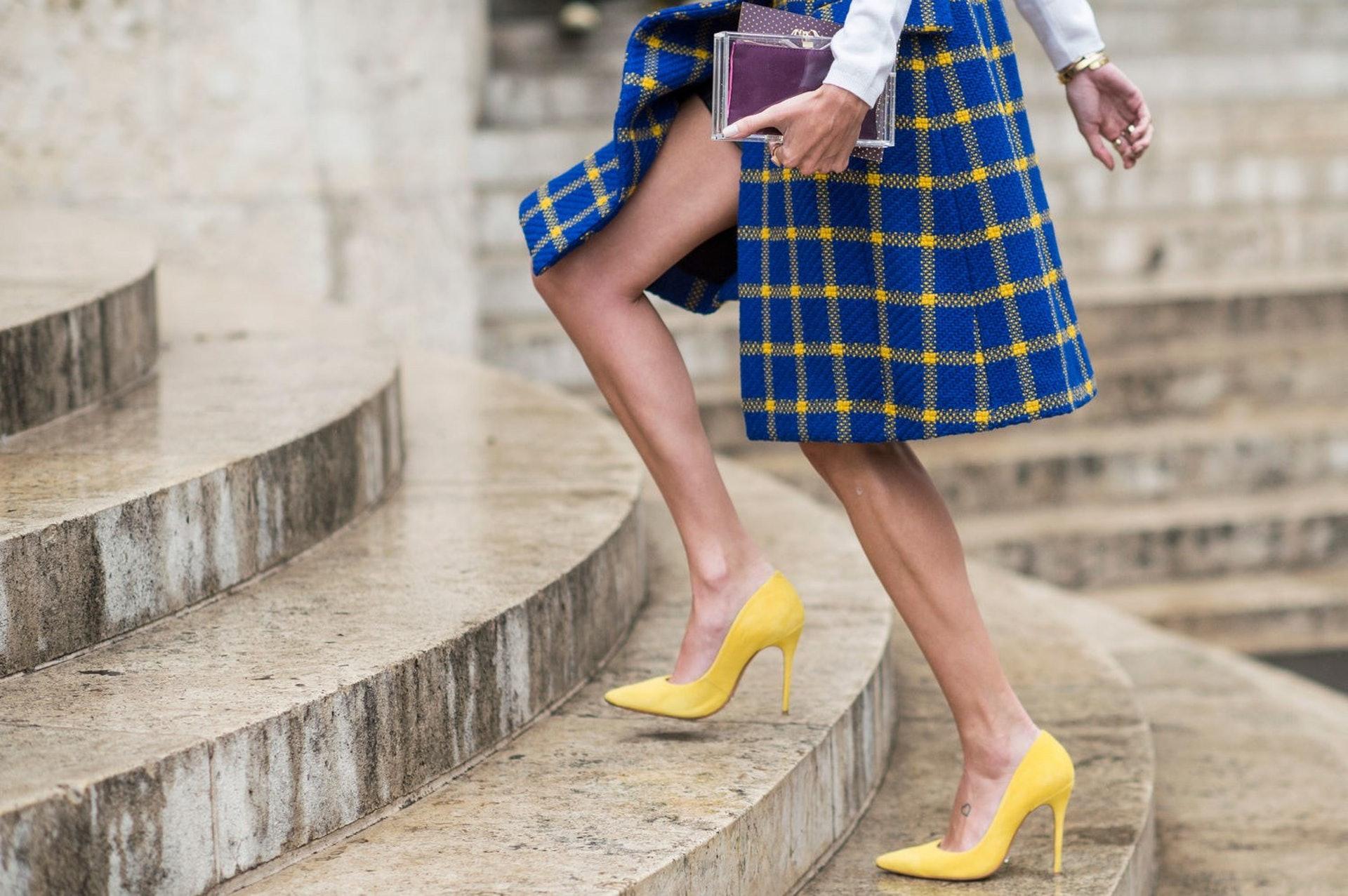 Nguy cơ từ giày cao gót 6