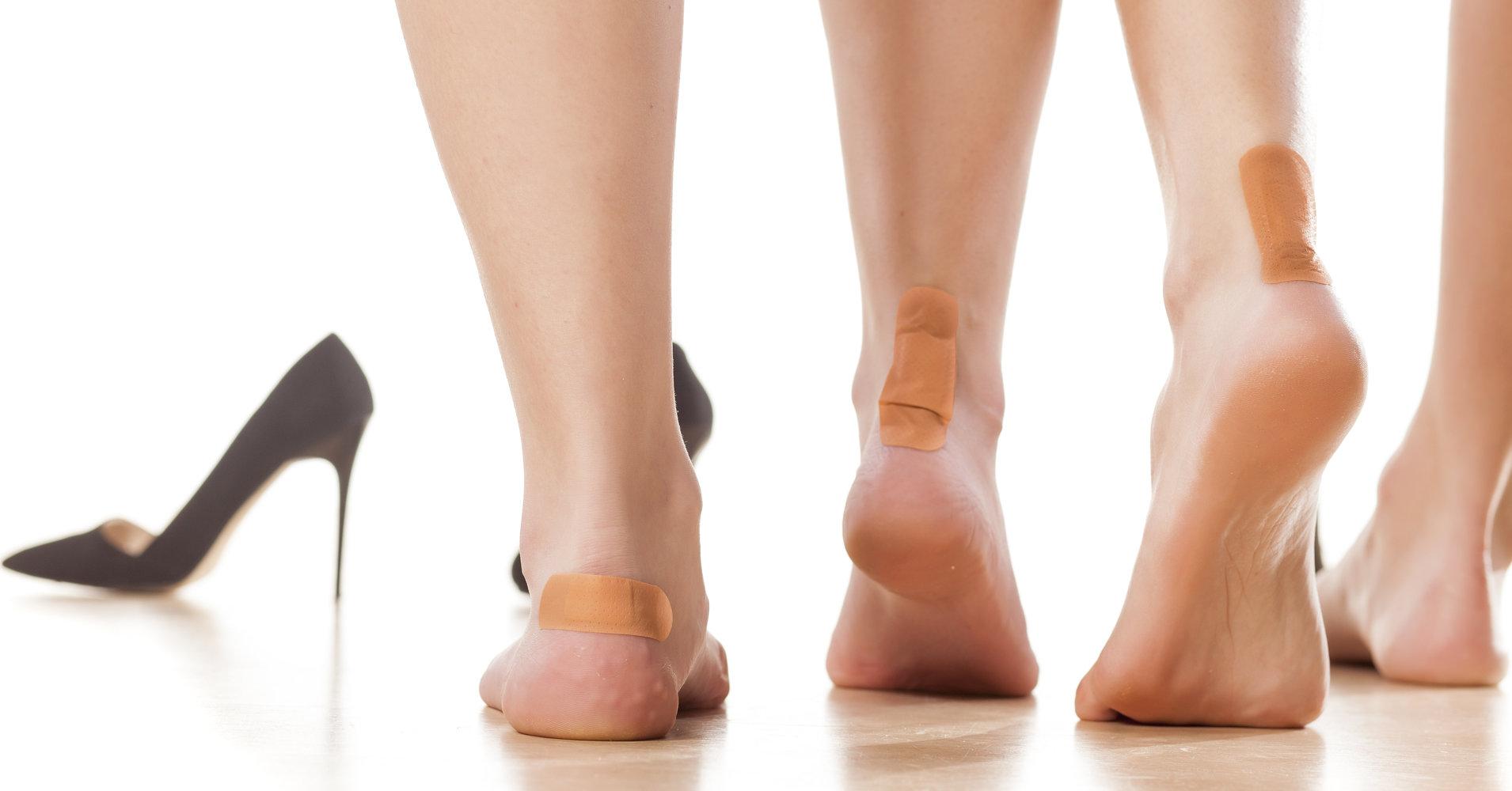 Nguy cơ từ giày cao gót 1
