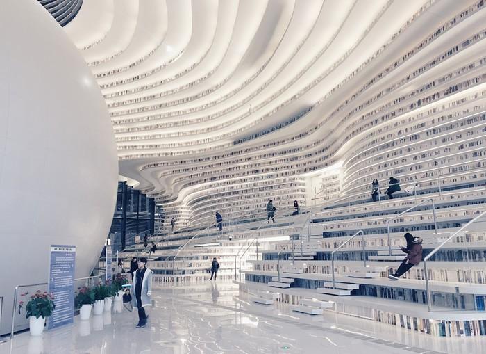 Choáng ngợp với vẻ đẹp của thư viện quốc dân lớn nhất Trung Quốc được check in rầm rộ - Ảnh 13.