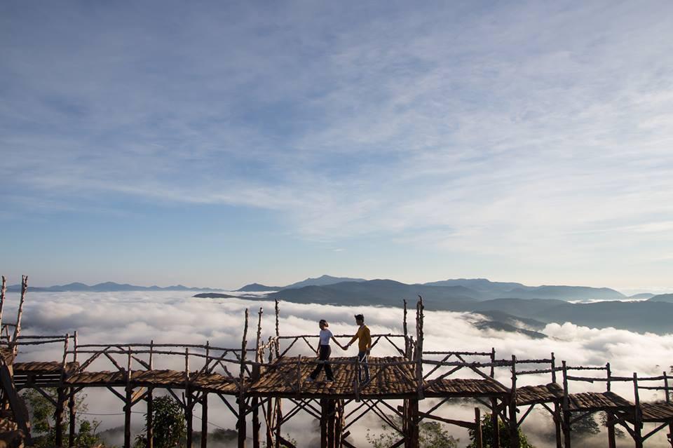 Cầu gỗ săn mây nổi tiếng ở Đà Lạt nhiều lần cấm khách tham quan: Lý do vì đâu nên nỗi? - Ảnh 5.