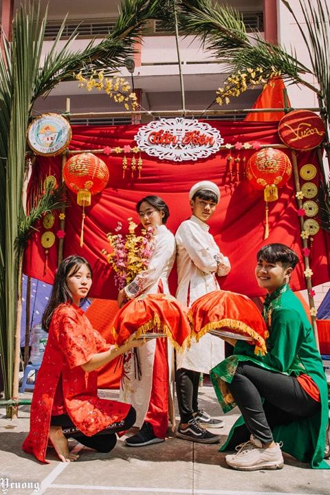 Ảnh 7: Dựng cổng trại thành đám cưới - We25.vn
