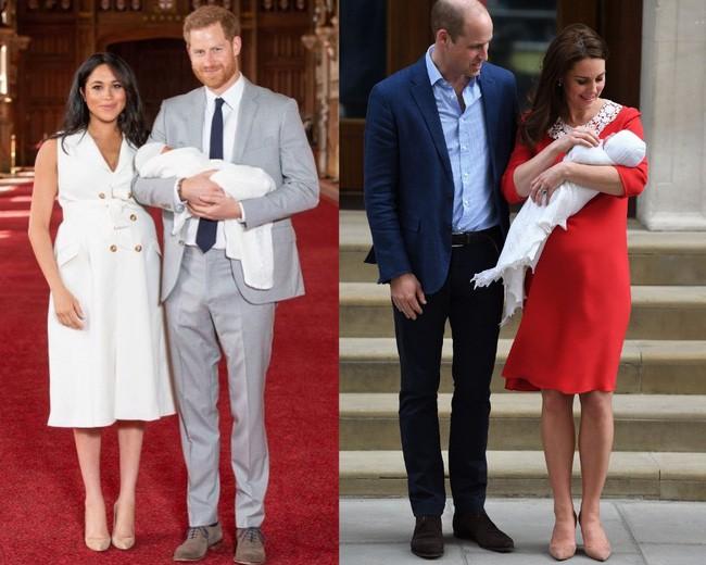 Style lộ diện sau sinh của 2 nàng dâu Hoàng gia: Chị chọn váy suông giấu dáng, em chẳng ngại mặc váy thắt eo nhưng lạ ở chỗ là cùng đi 1 kiểu giày - Ảnh 7.