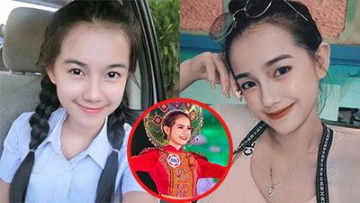 Xinh đẹp, cao 1m55, biết 5 thứ tiếng, nữ du học sinh Lào khiến bao chàng ngẩn ngơ