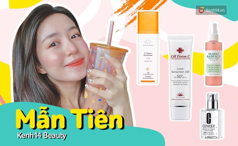 Đây là 4 sản phẩm skincare chủ lực mùa hè giúp Mẫn Tiên có làn da căng mịn, tươi tắn mà không phải phụ thuộc vào makeup - Ảnh 2.