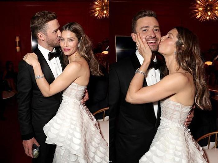 Vợ chồng Justin Timberlake vẫn ngọt ngào như lúc mới yêu