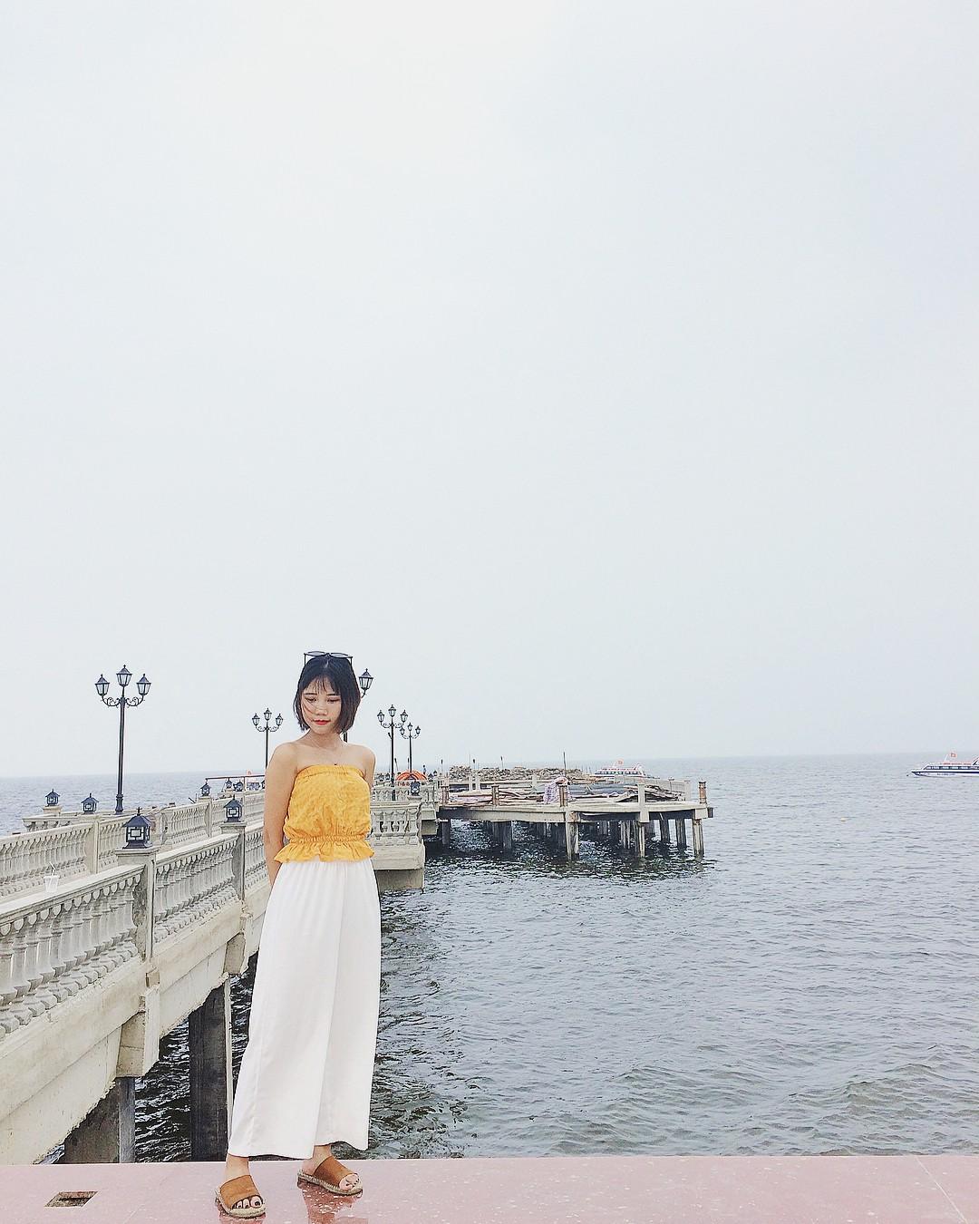 Không thể ngờ ở ngay gần Hà Nội cũng có khu cầu cảng trắng muốt mang hơi thở châu Âu thế này - Ảnh 13.