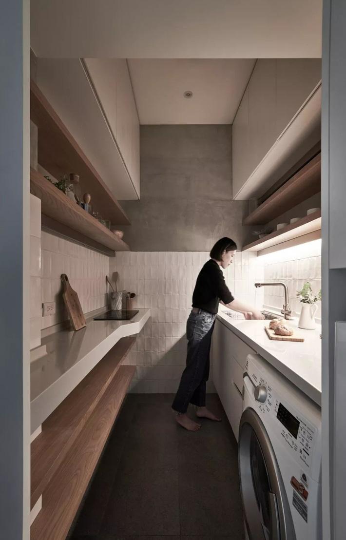Căn hộ của cô gái độc thân chỉ 17.6m² mà ngỡ như 76m² với cách thiết kế thông minh   - Ảnh 4.