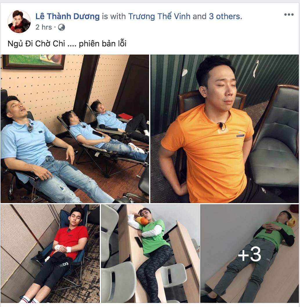 Không buông tha nhau giây phút nào, BB Trần và Ngô Kiến Huy quyết dìm dàn sao Running Man Việt ngay cả khi đang say giấc nồng - Ảnh 8.