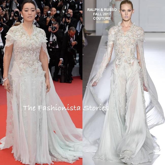 Ham váy vóc tùng xòe, Jessica suýt ngã và phải nhờ 2 người nâng váy tại thảm đỏ Cannes 2019 - Ảnh 8.