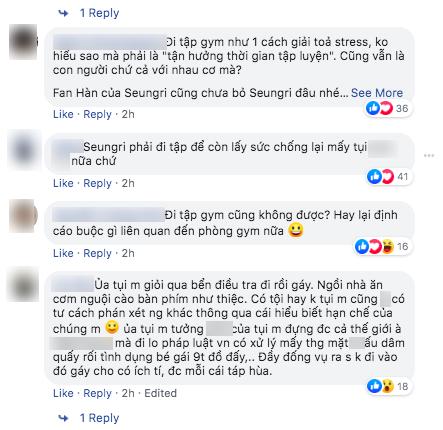 Sốc: Seungri vui vẻ đi tập gym sau khi tòa án hủy lệnh bắt, công chúng Hàn Quốc phẫn nộ và fan Việt vẫn bênh - Ảnh 10.
