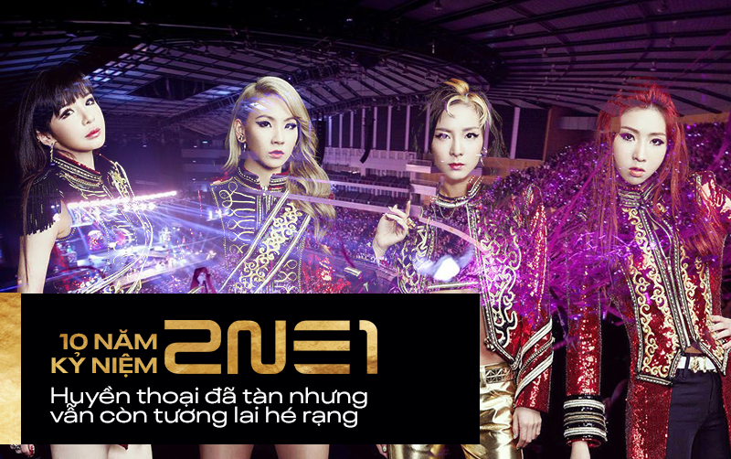 Hình ảnh lấy đi nước mắt hàng nghìn fan: 4 thành viên 2NE1 hội ngộ, cùng nhau cắt bánh mừng kỷ niệm 10 năm ra mắt - Ảnh 6.