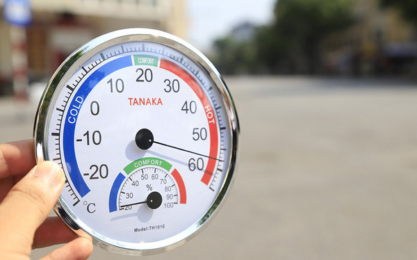 Ảnh 1: Nhiệt độ ngoài trời ở Hà Nội đạt 60 độ C - We25.vn