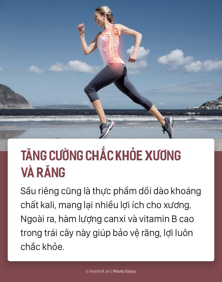 Tuy có hơi nặng mùi nhưng ăn sầu riêng sẽ mang đến rất nhiều lợi ích cho sức khoẻ - Ảnh 5.