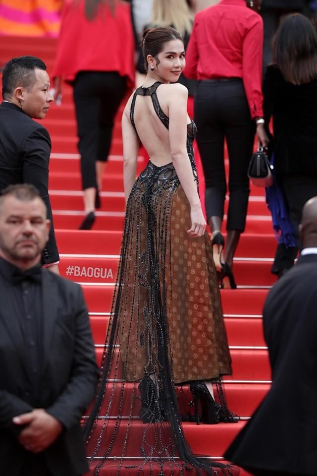 Ngọc Trinh ở Cannes mặc đồ lồ lộ quá, cư dân mạng đã nhanh chóng tân trang giải cứu ngay rồi đây - Ảnh 5.
