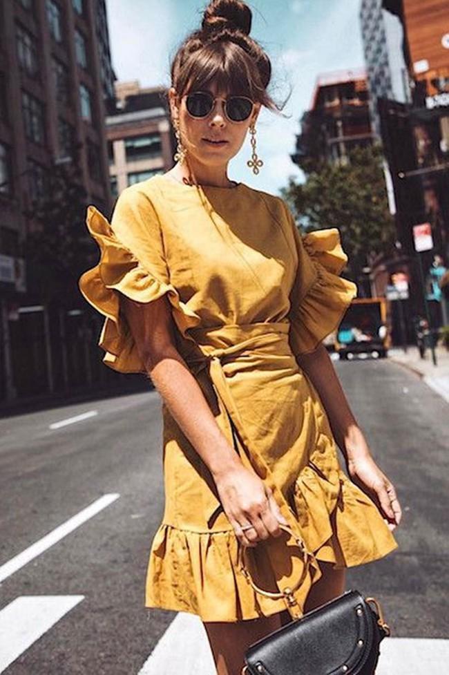 6 kiểu váy chị em nhất định phải sắm trong hè này, đặc biệt là với những nàng bánh bèo thực thụ - Ảnh 7.