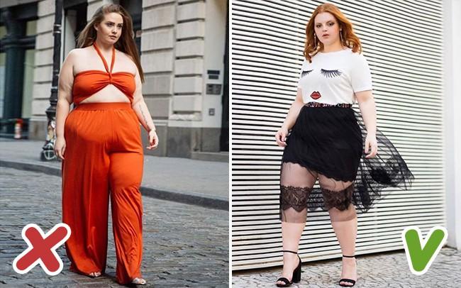 7 lỗi ăn mặc được coi là kẻ thù không đội trời chung của hội chị em thừa cân trong ngày hè - Ảnh 2.