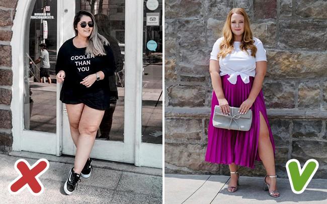7 lỗi ăn mặc được coi là kẻ thù không đội trời chung của hội chị em thừa cân trong ngày hè - Ảnh 6.