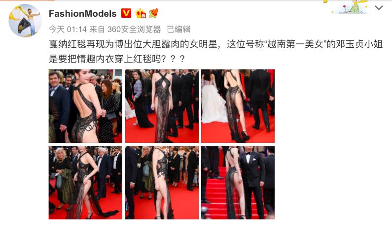Truyền thông và netizen nước ngoài phản ứng gay gắt về Ngọc Trinh tại Cannes: Báo Anh, Pháp không gắt bằng xứ Trung - Ảnh 7.