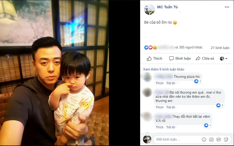 Không kém trên phim, MC Tuấn Tú Về nhà đi con cũng gây sốt bởi hình ảnh ông bố siêu dễ thương ngoài đời thực - Ảnh 2.