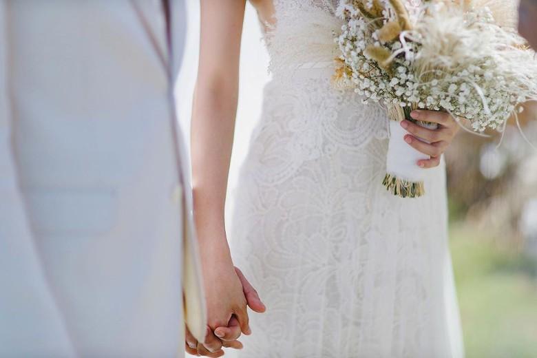 Đám cưới cổ tích bất ngờ của cặp đôi mỹ nam Cung Tâm Kế và nữ diễn viên Mái Ấm Gia Đình sau 5 năm bên nhau - Ảnh 9.