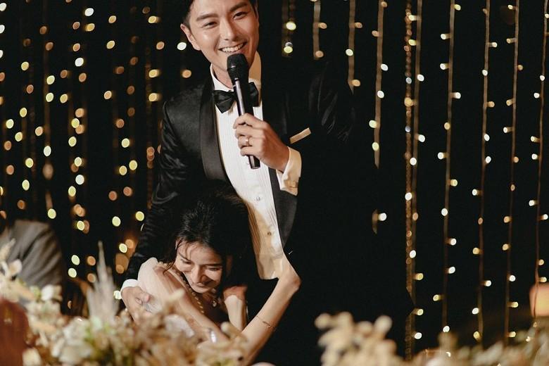 Đám cưới cổ tích bất ngờ của cặp đôi mỹ nam Cung Tâm Kế và nữ diễn viên Mái Ấm Gia Đình sau 5 năm bên nhau - Ảnh 5.