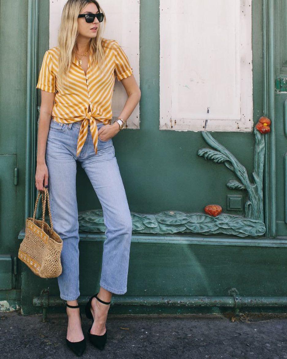 giày cao gót mũi nhọn tủ quần áo cô gái Pháp