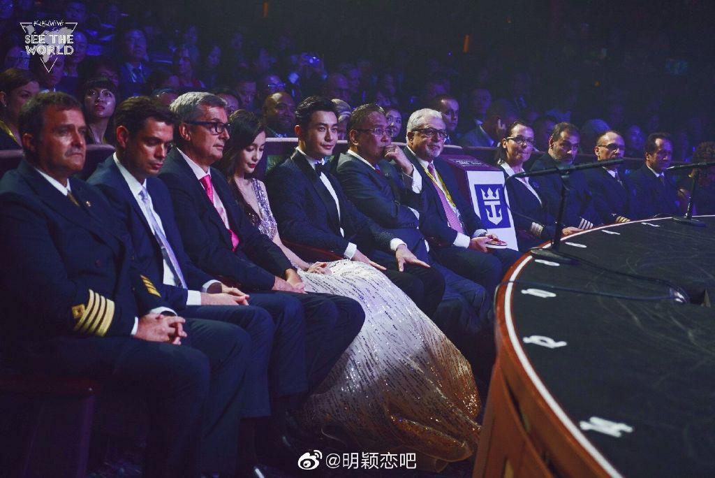 Nghi ngờ màn đỡ váy của Angela Baby - Huỳnh Hiểu Minh là bình phong, đây mới là thái độ của vợ chồng suốt sự kiện - Ảnh 4.