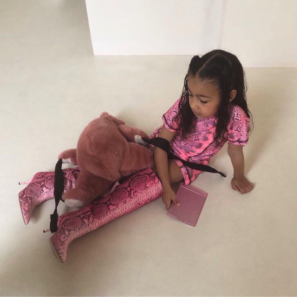 Loạt ảnh chứng minh con gái lớn nhà Kim Kardashian chính là công chúa nhỏ chịu chơi và sang chảnh bậc nhất Hollywood - Ảnh 2.