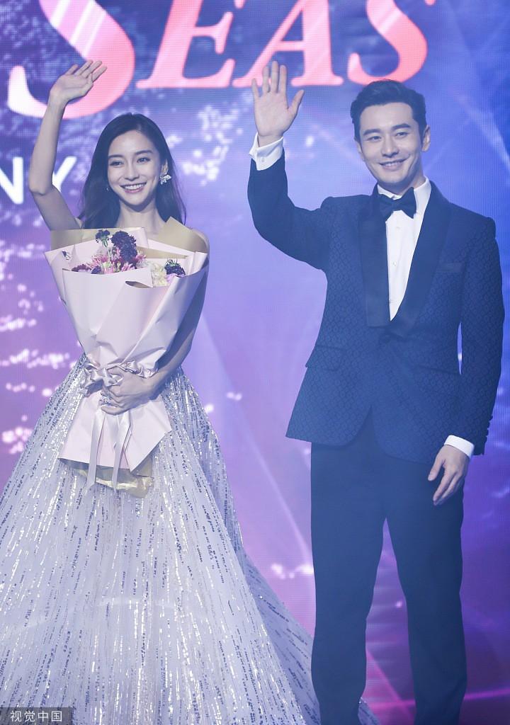 HOT: Chỉ một hành động đỡ váy cho Angelababy, Huỳnh Hiểu Minh chính thức đập tan tin đồn ly hôn ầm ĩ suốt 1 năm nay - Ảnh 5.