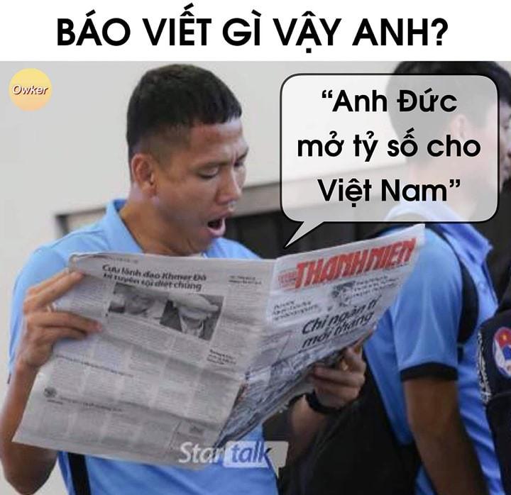 Dân mạng Việt hả hê trước bàn thắng tối thiểu của Anh Đức giúp đánh bại Thái Lan: Này thì chơi xấu! - Ảnh 4.