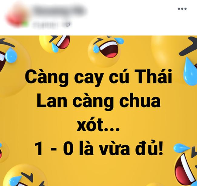 Dân mạng Việt hả hê trước bàn thắng tối thiểu của Anh Đức giúp đánh bại Thái Lan: Này thì chơi xấu! - Ảnh 8.