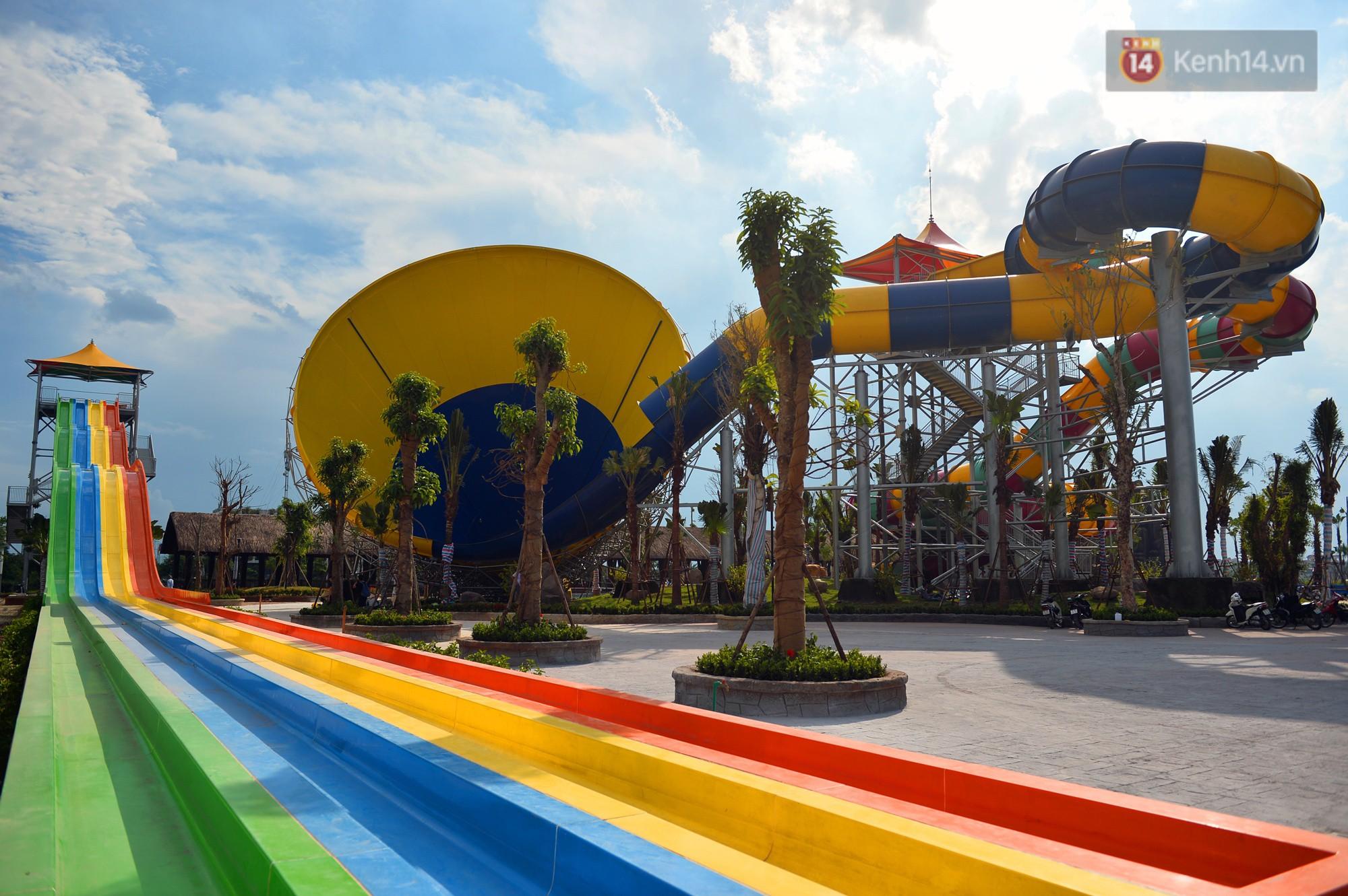 Cận cảnh công viên nước hiện đại nhất Thủ đô sắp được khai trương - Ảnh 11.