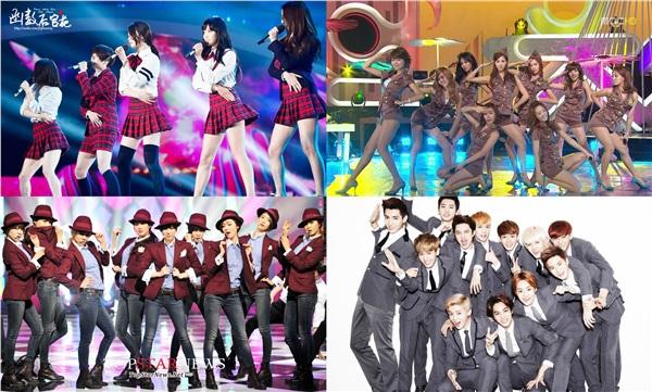 Những outfit đặc trưng cho concept nổi tiếng của nhà SM