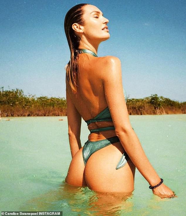 Thiên thần Victorias Secret đăng ảnh ngực trần khoe body không chút mỡ thừa để kêu gọi bảo vệ biển cả - Ảnh 3.