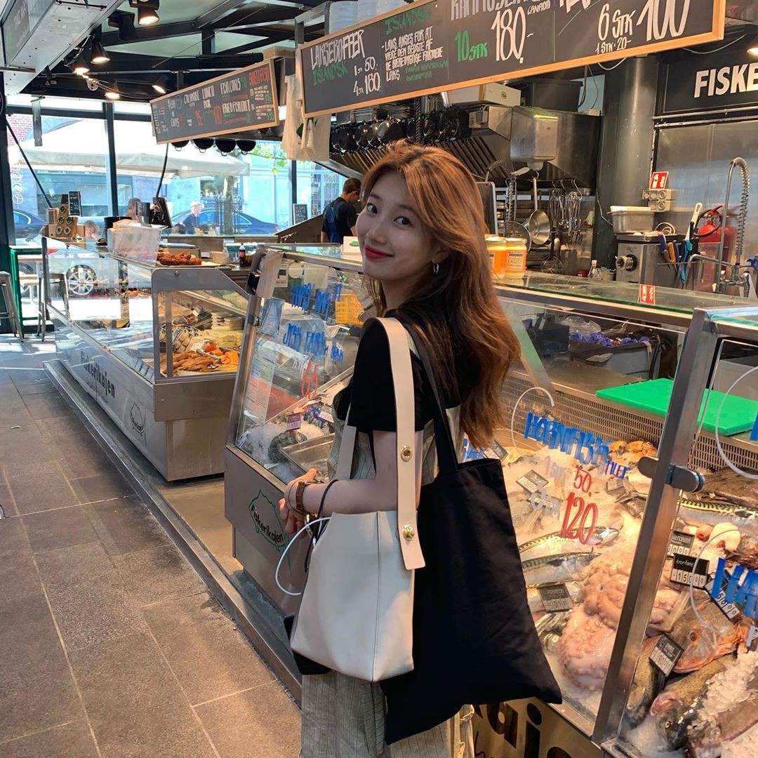 Chỉ có thể là Suzy: Đi du lịch châu Âu mà chụp hình... nhìn như ở Ba Vì, may là chị vẫn đẹp nên fan tha thứ hết! - Ảnh 11.