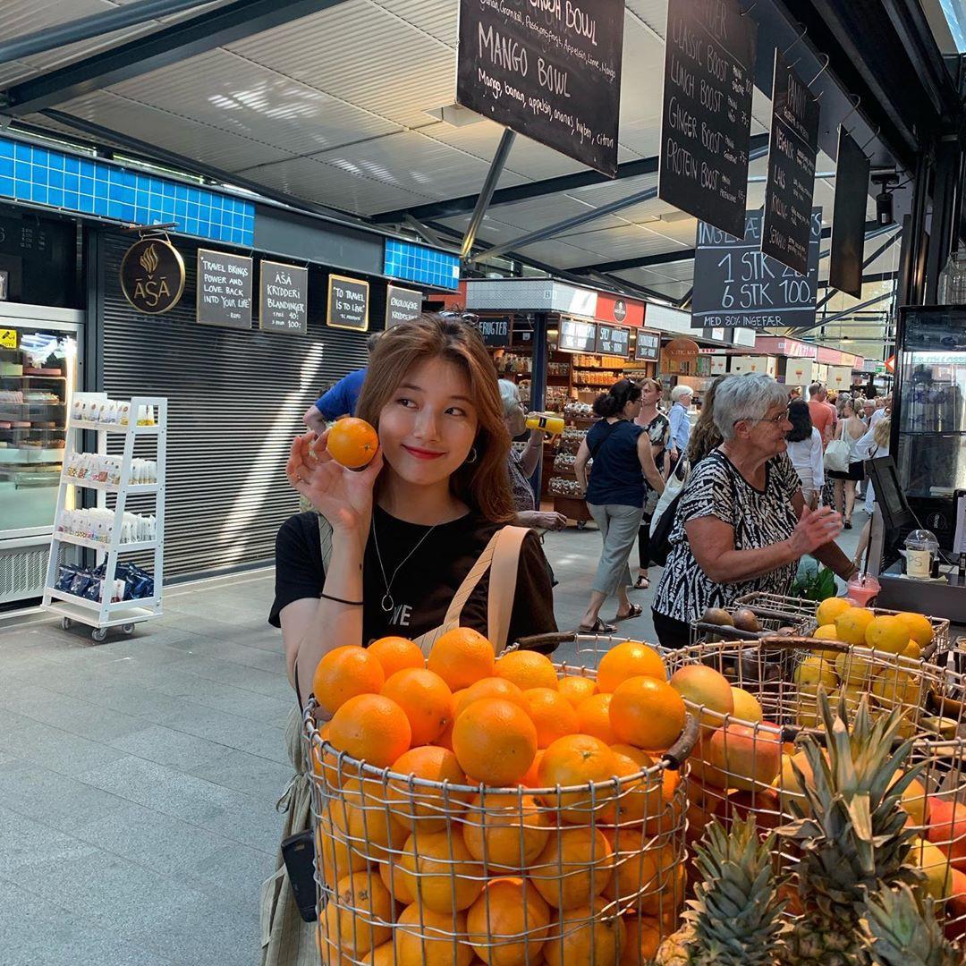 Chỉ có thể là Suzy: Đi du lịch châu Âu mà chụp hình... nhìn như ở Ba Vì, may là chị vẫn đẹp nên fan tha thứ hết! - Ảnh 6.