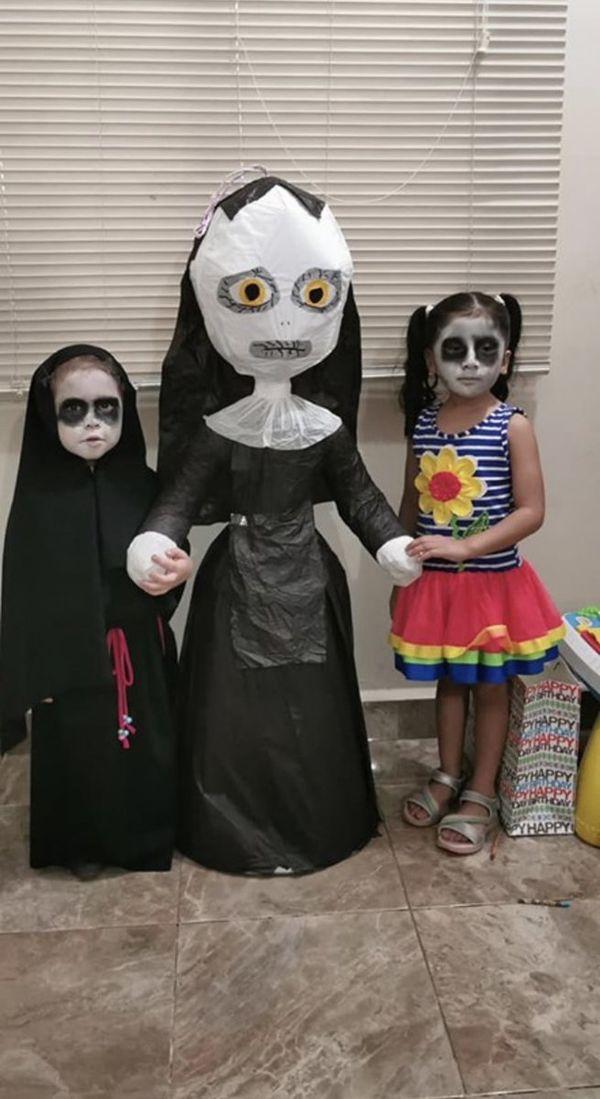 Chọn 'The Conjuring' làm chủ đề tiệc sinh nhật, cô nhóc 3 tuổi khiến dân mạng một phen trầm trồ