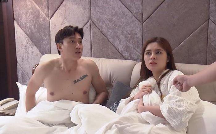 Chân dung cô gái nóng bỏng hôn cuồng nhiệt Vũ trong 'Về nhà đi con'