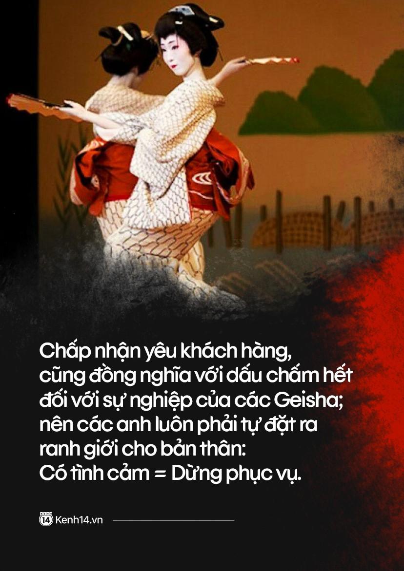 Ẩn sau vẻ đẹp chết người của một Geisha Nam: Sức quyến rũ từ lời nói đường mật thu về cả tỷ đồng mỗi đêm - Ảnh 14.